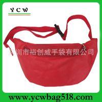 深圳龙岗手袋厂生产 新款腰包 休闲腰包 运动腰包
