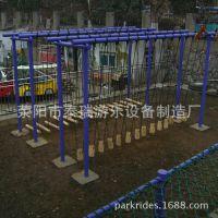 泰瑞游乐设备制造----木板、钢材制体能乐园厂家|体能乐园
