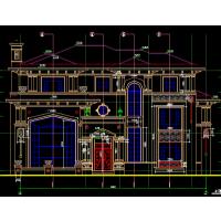 意大利风格豪华独栋六层楼房建筑设计图19.5x18米
