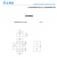 LRC开关二极管 L1SS400BST5G S0D882