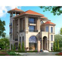 永云别墅 AT1711高端大气带电梯欧式四层复式楼别墅设计图纸13.9mx16.7m