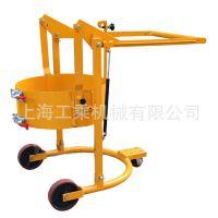 倾斜式油桶车,型号HD80,可翻转油桶搬运车