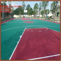 湖南丙烯酸材料厂家 硅PU球场材料特价 硬地篮球场地坪漆施工图