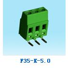 低价批发零售台湾恒翊电子welink欧规升降式绿色接线端子台F3