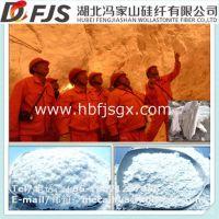 供应用于冶金助熔剂颗粒板坯连铸模铸保护渣基料的大冶冯家山低磷P硫S硅灰石普粉