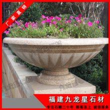 供应各式景观花钵 石材花钵加工 特色高端装饰花盆摆件