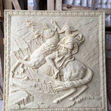 砂岩24孝雕塑图片大全古代人物艺术浮雕壁画广场玻璃钢背景墙