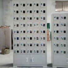 甘肃|兰州铁质柜生产商 学生手机保管柜56格账单目录柜外形尺寸