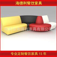 厂家直销 田园布艺沙发 酒店大厅高档沙发组合 KTV卡座沙发批发
