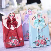 新款创意喜糖盒/喜糖包装盒/结婚喜糖包/纸盒/爱情故事喜糖盒