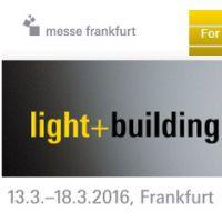 2016年法兰克福国际灯光照明及建筑物技术与设备展览会