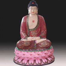 河南云峰佛像雕塑厂直销三宝佛2.4米 释迦摩尼佛 玻璃钢树脂雕塑 寺庙摆件神像佛像