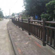 厂价直销 价格优惠 GRC栏杆 水泥仿木 四川雕塑厂家 玻璃钢
