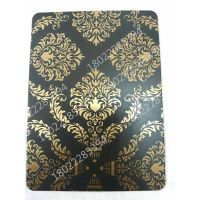 供应上海广州联众304#不锈钢蚀刻板 双色花纹板-欧式花 酒店装饰工程装饰用板