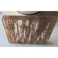 树脂透光板大概多少钱 美溢品牌 10mm厚 天然植物夹层