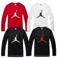 2015秋装飞人乔乔男女长袖T恤情侣Jordan街头篮球运动纯棉打底衫