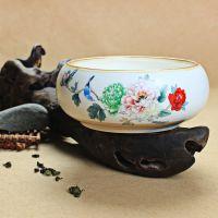 龙泉青瓷茶洗 定窑茶具茶碗 高档功夫茶具特价 陶瓷茶具