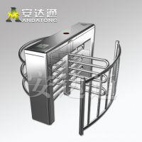 半高转闸门 不锈钢全高闸机 十字转闸 监狱通道门