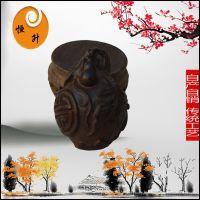 厂家直销越南芽庄天然沉香木雕摆件手把件福寿葫芦工艺品家居摆设