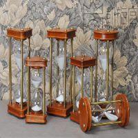 高档实木沙漏计时器 60分钟30分钟 生日礼物 装饰品