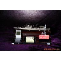 供应工艺品 商务摆件 舰艇模型 办公摆件 计算器 红木套装