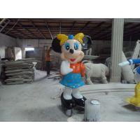 深圳港城供应香港迪斯尼乐园卡通米老鼠雕塑厂家