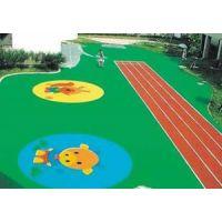 响水县塑胶跑道硅PU地面人造草坪