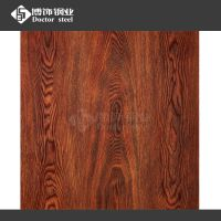 厂家直销不锈钢木纹板价格 304彩色不锈钢花纹【炭烧松木热转印加工】