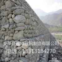 安平鑫隆石笼网厂生产 东北三江河道治理石笼网