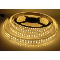 厂家供应高亮度质保二年LED软灯条套管防水3528白光双排240灯/米
