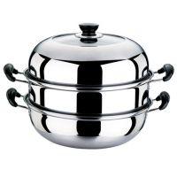 双层蒸锅、不锈钢、居家实用礼品、商务馈赠、通用多用蒸锅
