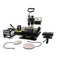 Multifunction Combination heat press machine 5in1 CE