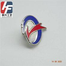 深圳金属制品厂/广州胸针订制/金属徽章厂