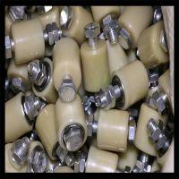 厂家直销MC尼龙淡黄色耐磨U/V形槽滑轮加工定做