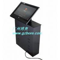 供应17寸显示器液晶屏升降器 多媒体会议桌升降机 C系列液晶屏升降器(可调45度角)