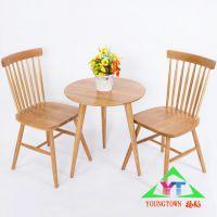扬韬供应北欧创意简约时尚宜家实木餐桌小户型水曲柳餐桌椅组合桌子