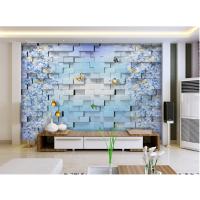 玉石背景墙彩绘3D打印机,玻璃背景墙浮雕效果爱普生五色UV平板打印机