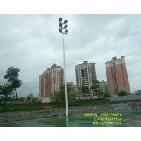 朝阳区篮球场灯杆灯柱款式和价格 6米球场灯杆上下口径是多大的?有特别要求吗?