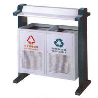 户外铁板喷塑垃圾桶分类垃圾桶 厂家定做