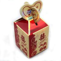 批发定做婚庆礼盒 2015新款喜糖包装 糖果结婚包装纸盒 喜糖盒子