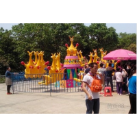 儿童新款游乐设备袋鼠跳 郑州游乐设备厂家 6臂 8臂