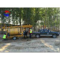 内蒙新型移动式旱地选金设备--东威DW-YD系列集成式移动选金车