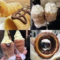布拉格烤面包卷机,捷克面包卷面包圈机,蛋糕卷机,欧式蛋糕烤箱