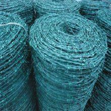 厂家直销刺绳-热镀锌铁蒺藜-浸塑刺绳