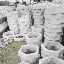 供应重庆 预制砼六角空心块 重庆渝北水泥实心六角砖