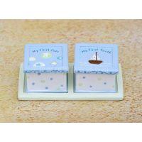 宝宝乳牙盒 婴儿胎毛牙齿保存收藏盒创意周岁纪念品生日礼物