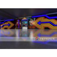 郑州电玩城装修设计,郑州动漫城装修设计天恒装饰 口碑好 服务好