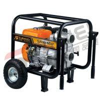 移动式小型4寸汽油水泵|小型便携式自吸泵