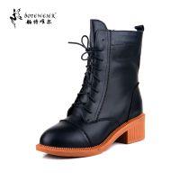 厂家直销 舶特唯尔大码女靴41-43女鞋冬季靴子40加厚保暖棉鞋3560
