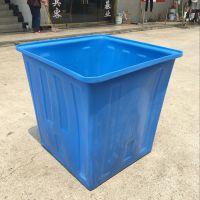 闽行区物流周转塑料方箱 250L牛筋塑料周转方箱定制